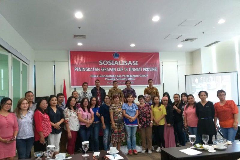Disperindag sosialisasi peningkatan serapan KUR di Sulut
