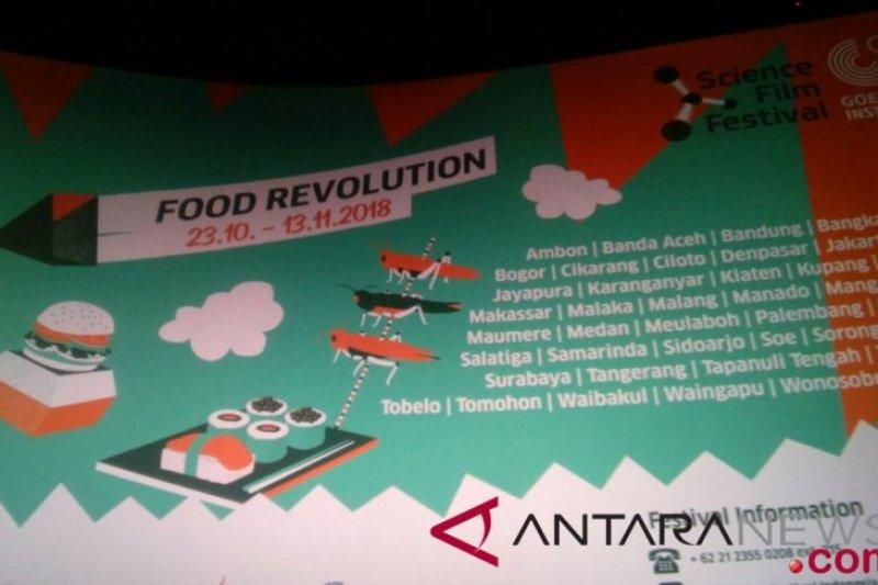 Science Film Festival 2018 angkat tema revolusi pangan
