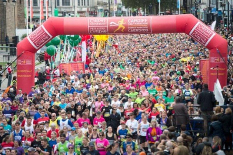 Dua peserta half-marathon di Cardiff meninggal dunia