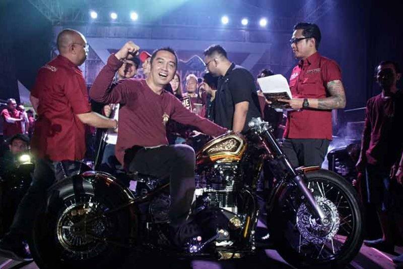 Yamaha XS650 jawara kontes modifikasi Suryanation