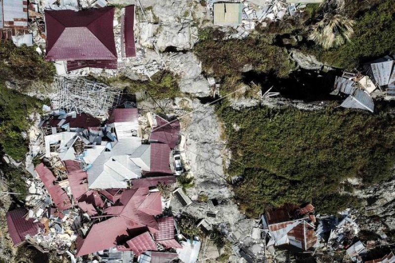 Satelit deteksi 5.000 lebih bangunan rusak di Palu-Donggala