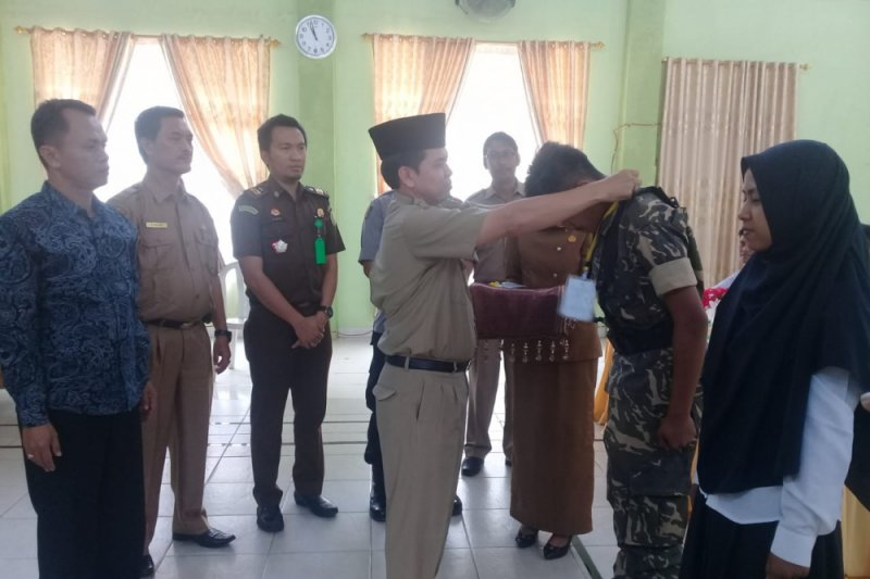 Kesbangpol Sijunjung gelar pelatihan bela negara IV angkatan