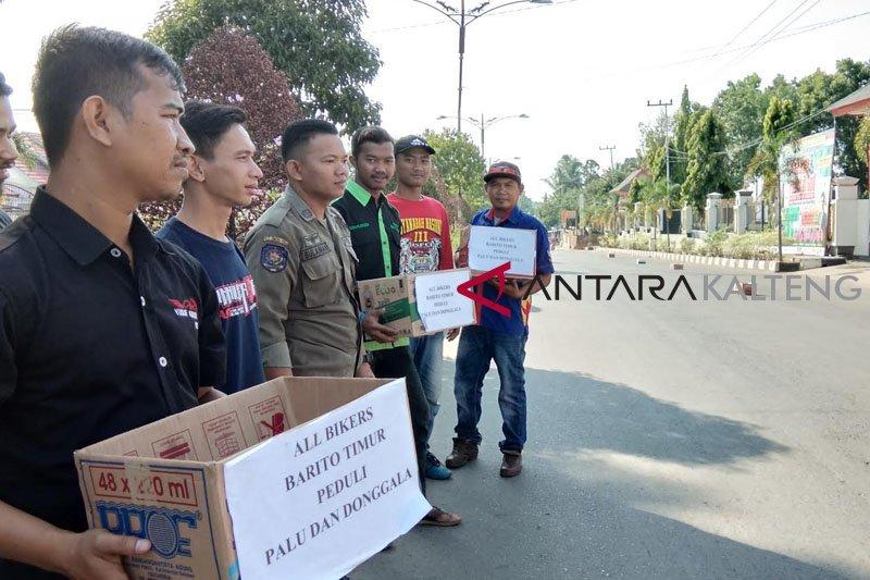 10 Klub Motor di Bartim Galang Dana untuk Korban gempa-tsunami Sulteng