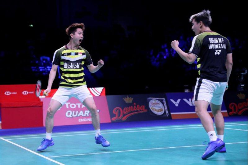 Kevin/Markus pertahankan gelar juara Denmark Open