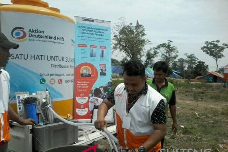 WVI masih distribusikan air untuk korban gempa
