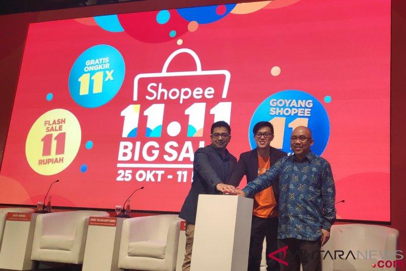 Shopee siapkan game baru untuk festival belanja 11.11
