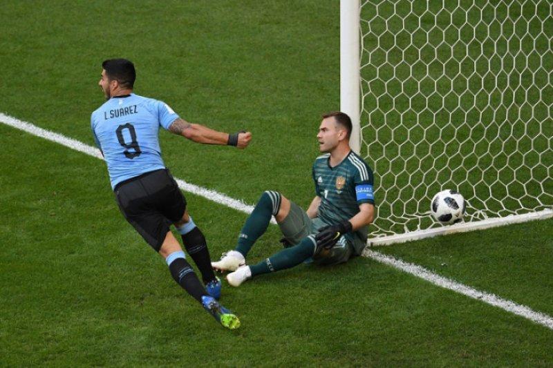 Istri akan melahirkan, Suarez absen perkuat Uruguay saat lawan Korsel