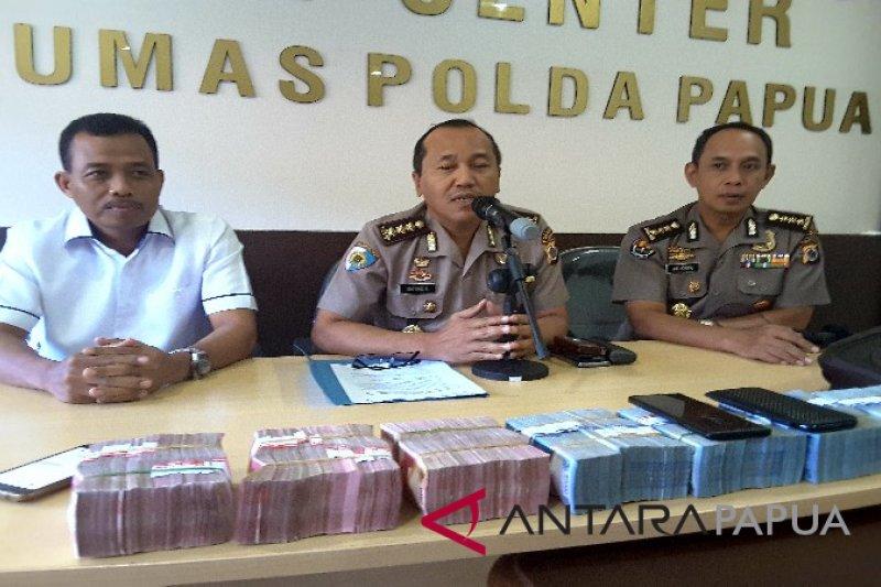 Polda Papua OTT pengusaha terkait kasus pembalakan liar