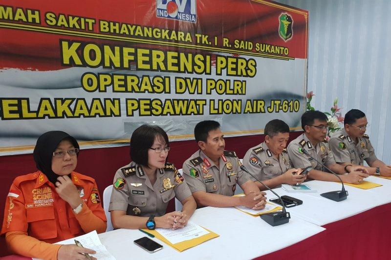 DVI identifikasi enam penumpang Lion Air JT 610