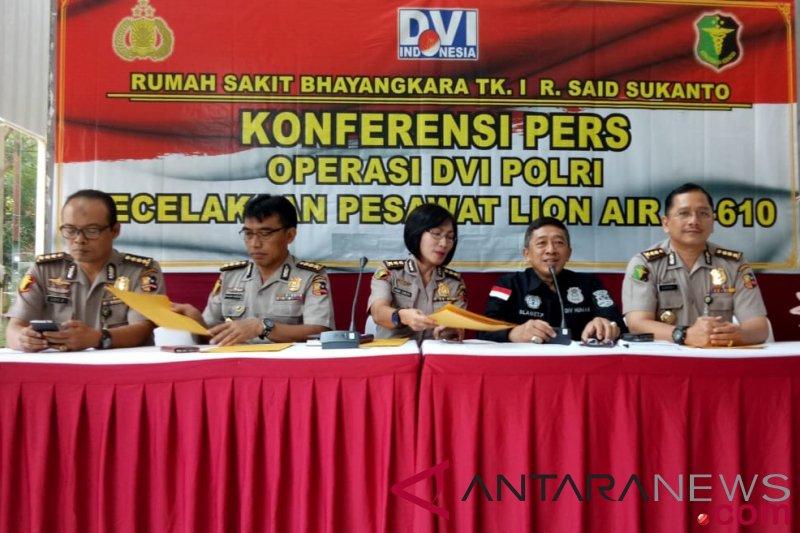Polisi identifikasi penumpang Lion Air JT 610