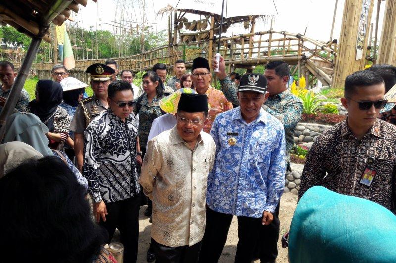 "Wapres kunjungi destinasi wisata ""Puri Mataram"" Sleman"