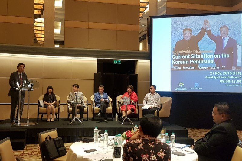 Peran Indonesia dalam perdamaian Semenanjung Korea diapresiasi