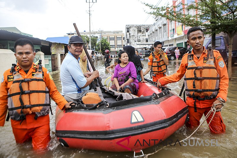 Pompanisasi belum selesai penyebab banjir di Palembang