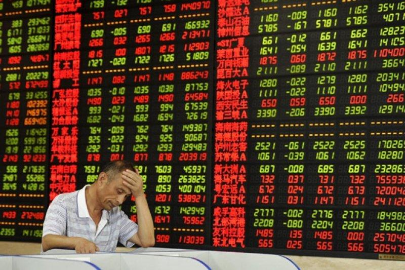 Saham China akhir pekan anjlok, tertekan valuasi yang ketinggian