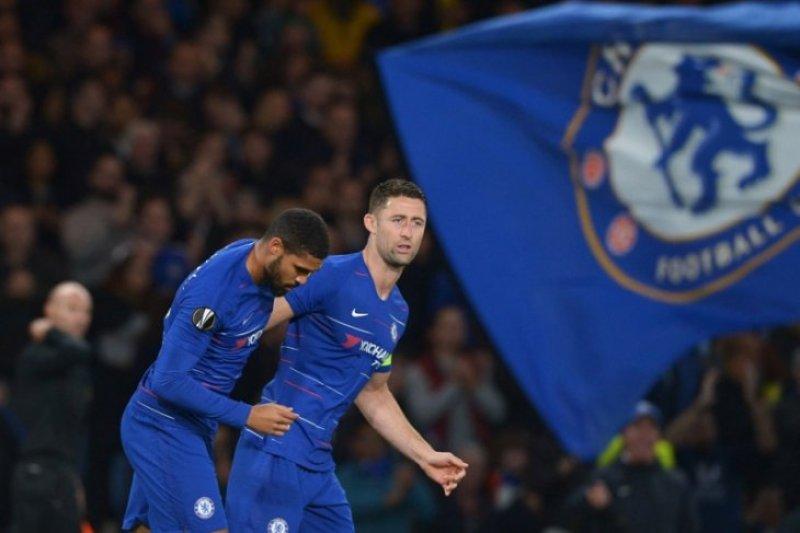 Gol semata wayang amankan Chelsea ke fase gugur