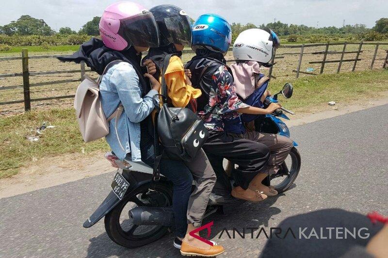 Pelanggaran lalu lintas di Seruyan didominasi anak di bawah umur