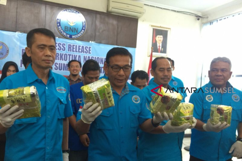 BNN Sumsel tangkap pengedar sabu jaringan Medan