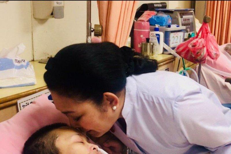 Shinta dan ibunya berterima kasih kepada Titiek Soeharto