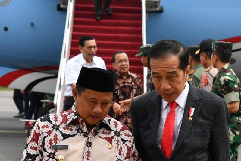 Presiden hadiri Apel Danrem-Dandim di Bandung