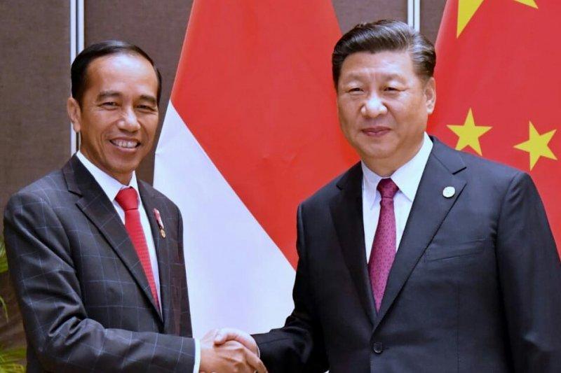 Jokowi bahas perdagangan dengan Xi Jinping
