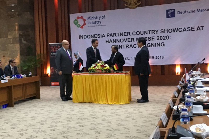 Indonesia mitra resmi pameran industri terbesar Eropa