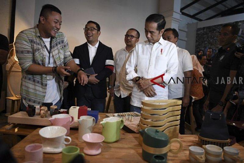 Jokowi sebut Bandung adalah pusat kreatifitas paling siap di Indonesia