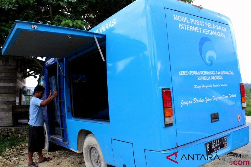 Akses internet 25 wilayah Papua dan 11 wilayah Papua Barat dibuka