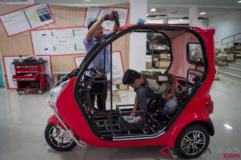 Produksi Motor Listrik Di Solo
