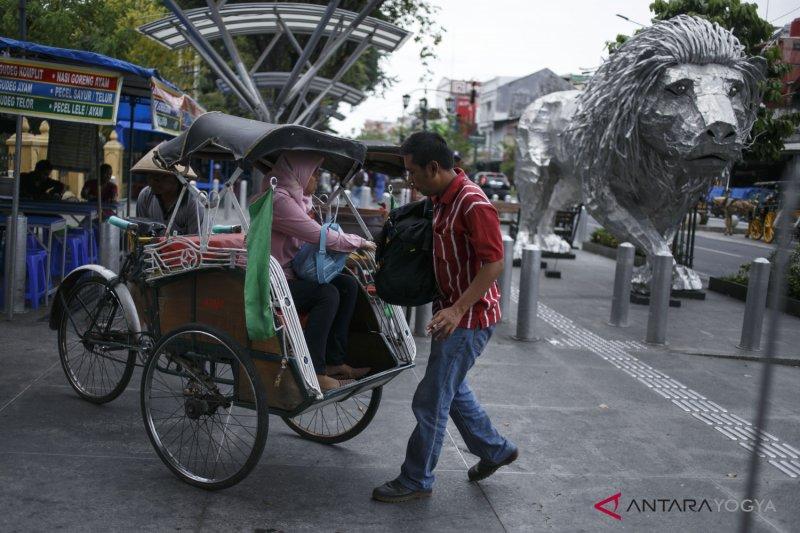 Perubahan lalu lintas kawasan Malioboro diuji coba sebelum Pemilu 2019