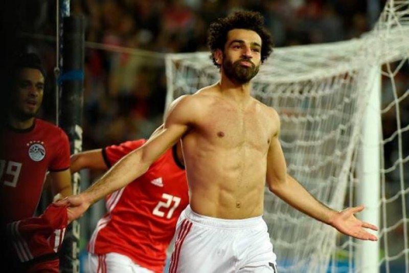 Pemanasan Piala Afrika, Salah perkuat Mesir saat kalahkan Guinea