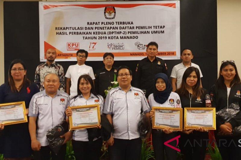 KPU Manado tetapkan TPS sebanyak 1.385 Buah