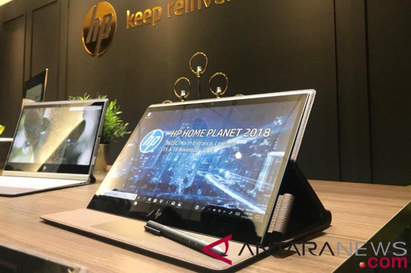 Spectre Folio Laptop Premium Hp Berbahan Kulit Antara News Sumatera Barat