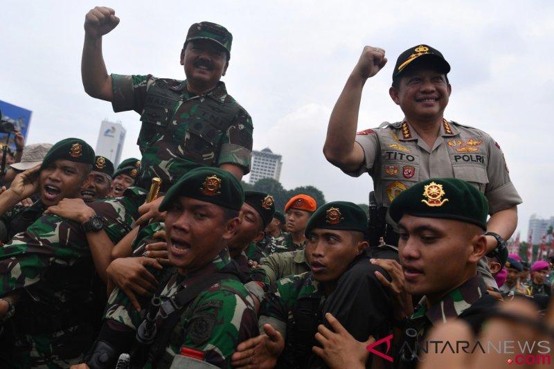 Korem 043/Garuda Hitam jaga netralitas pada Pemilu 2019