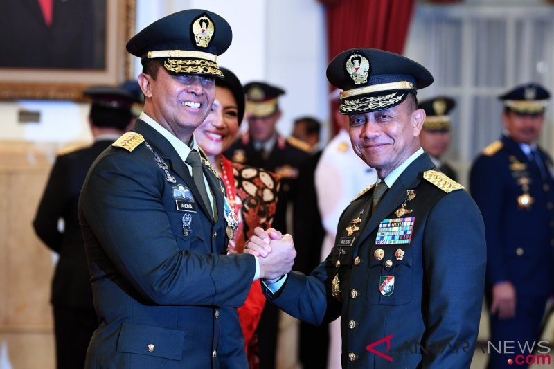 Pengamat: KSAD baru harus jaga soliditas TNI/Polri jelang Pemilu