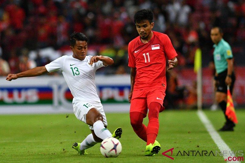 Piala AFF 2018 - Indonesia kalah dari Singapura 0-1
