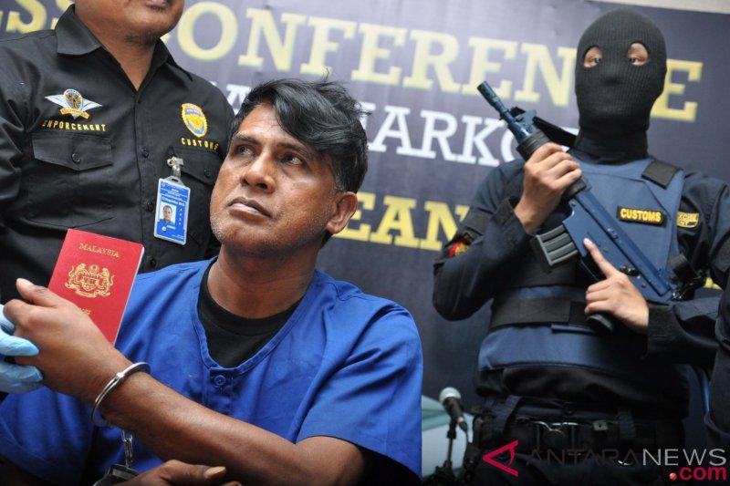 Pengiriman sabu-sabu dari Malaysia digagalkan di Palembang