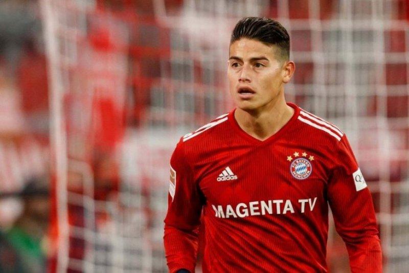 James Rodriguez siap hengkang dari Bayern Muenchen