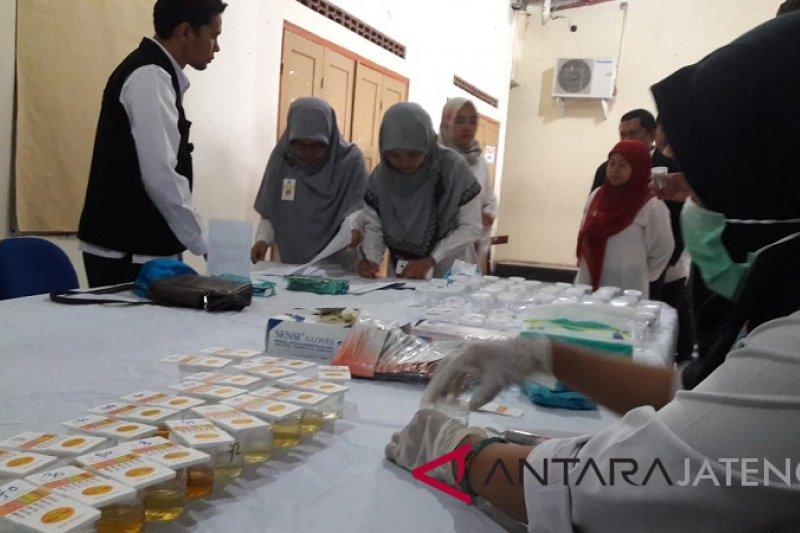 Jalani tes urine, 120 pegawai Kantor Pajak Temanggung bebas narkoba