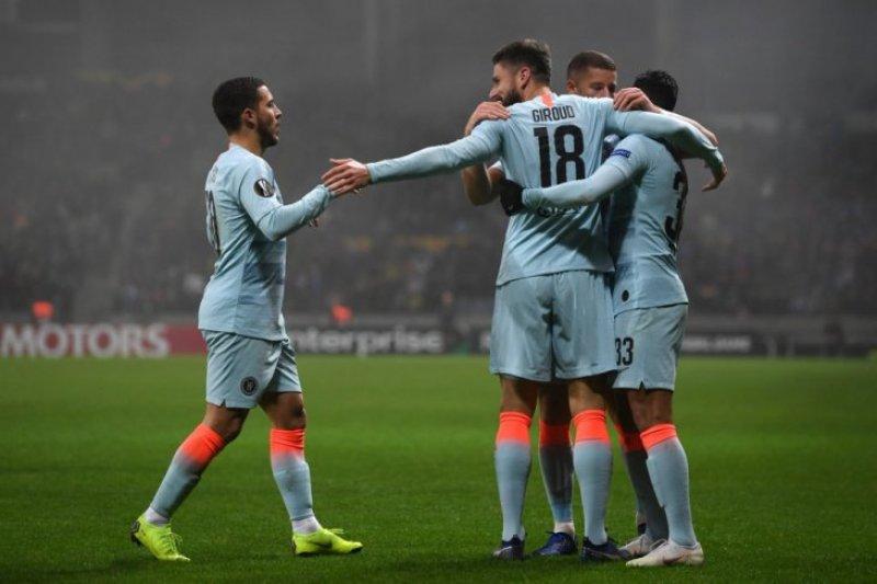 Chelsea amankan tiket ke 32 besar Liga Europa