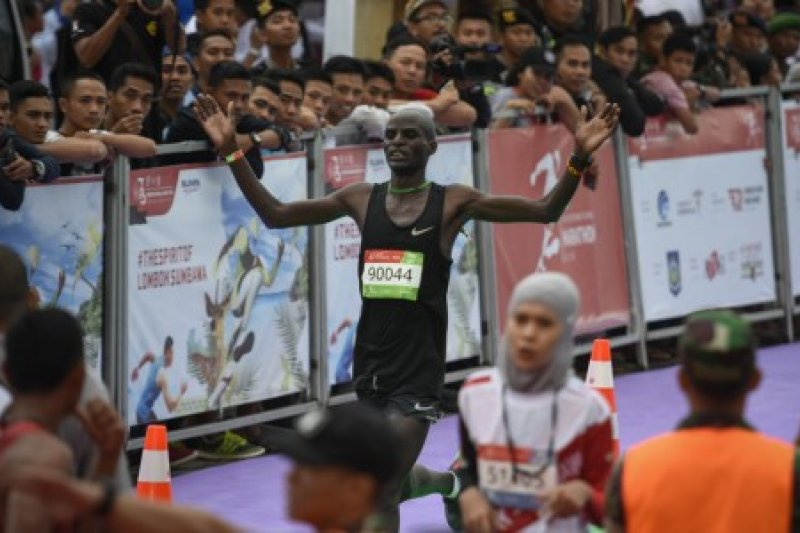 Pemenang Half Marathon