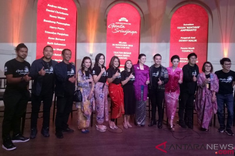 "Pagelaran seni ""Genta Sriwijaya"" ajak masyarakat kenang sejarah kebesaran Indonesia"