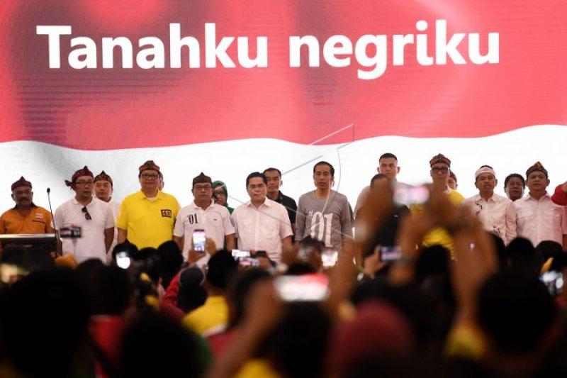 Jokowi ingin menang 'tebal' di Jabar saat Pilpres