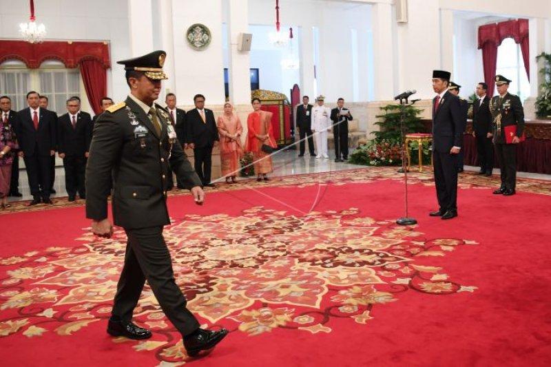 Jenderal TNI Andika diharapkan tingkatkan sinergi TNI-Polri