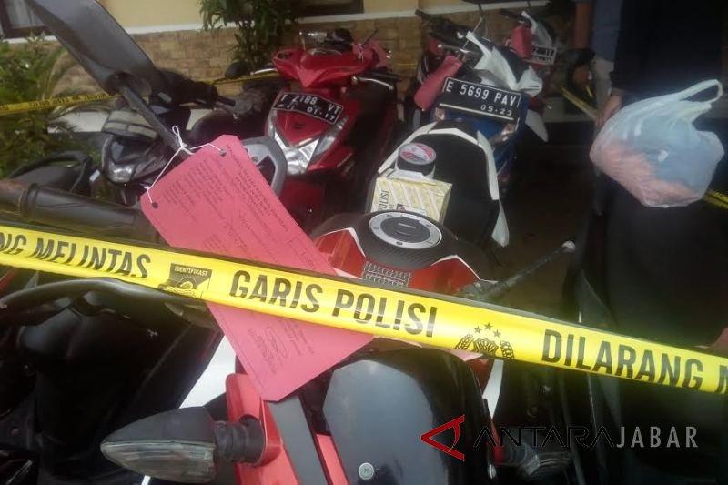 232 motor hasil kejahatan di Polres Indramayu, yang kehilangan silakan datang