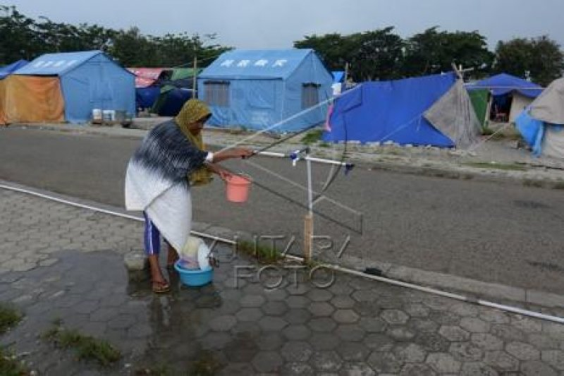 Sanitasi lingkungan pengungsian