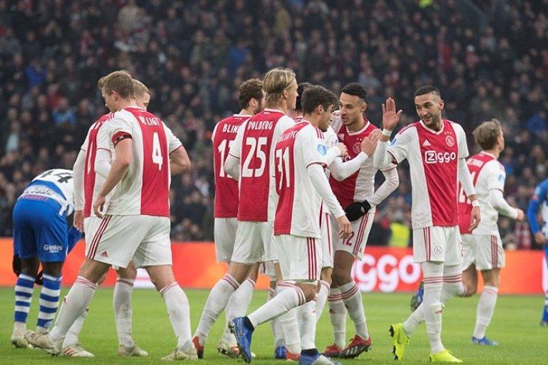 Hasil dan klasemen Liga Belanda, Ajax tempel poin PSV dan samai agregat golnya
