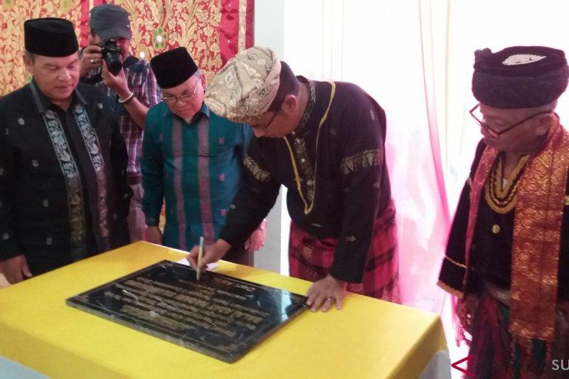 Wali Kota Sawahlunto resmikan kantor Kerapatan Adat Nagari Silungkang