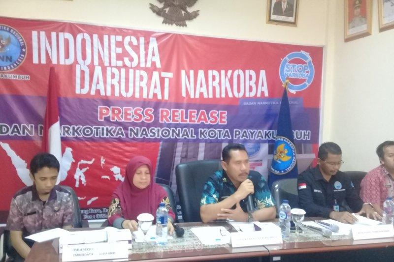 BNNK Payakumbuh rehabilitasi 68 pecandu narkoba sepanjang 2018