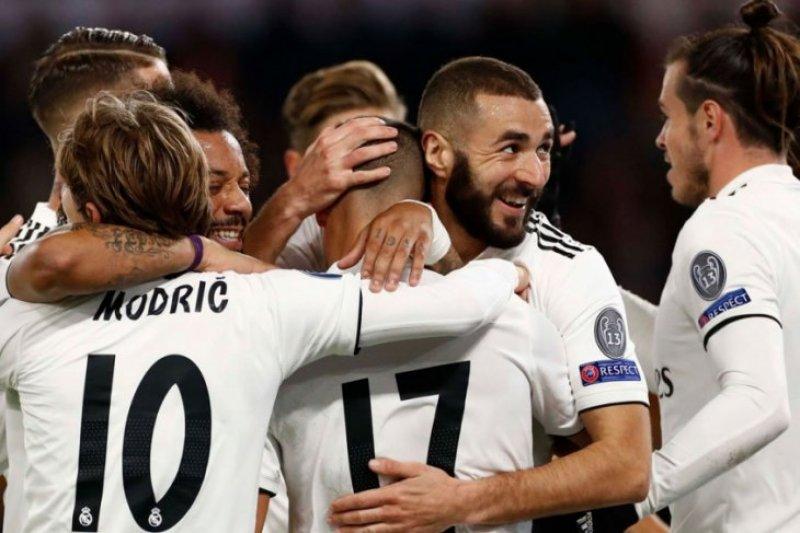Madrid melaju di hasil 16 besar Piala Raja