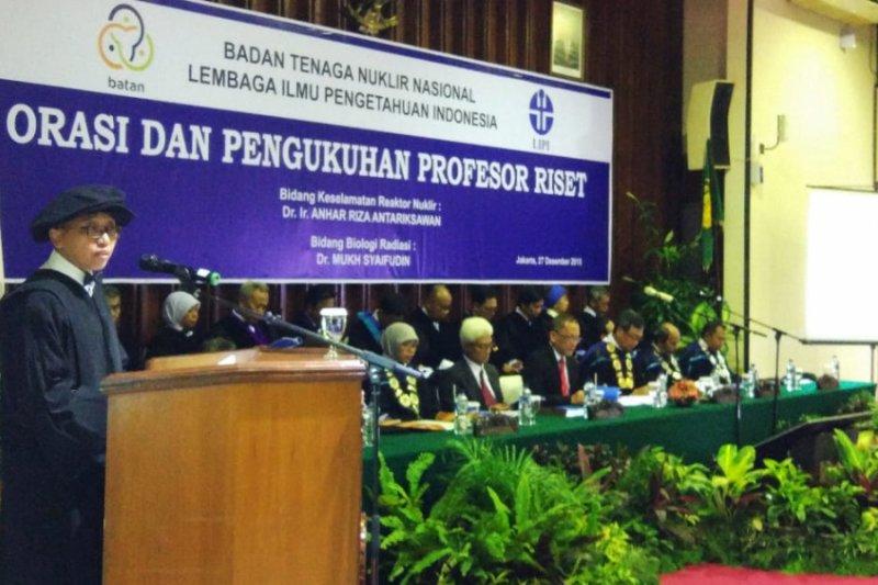 BATAN tambah dua profesor riset baru